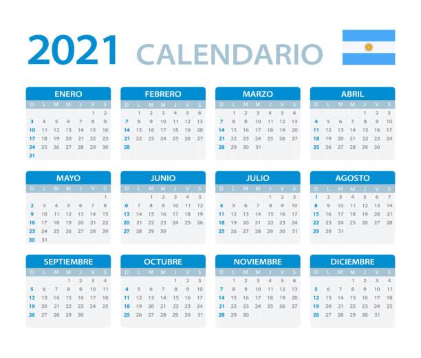 Calendario 2021 Argentina Calendario 2021 Argentina para imprimir: Feriados Nacionales