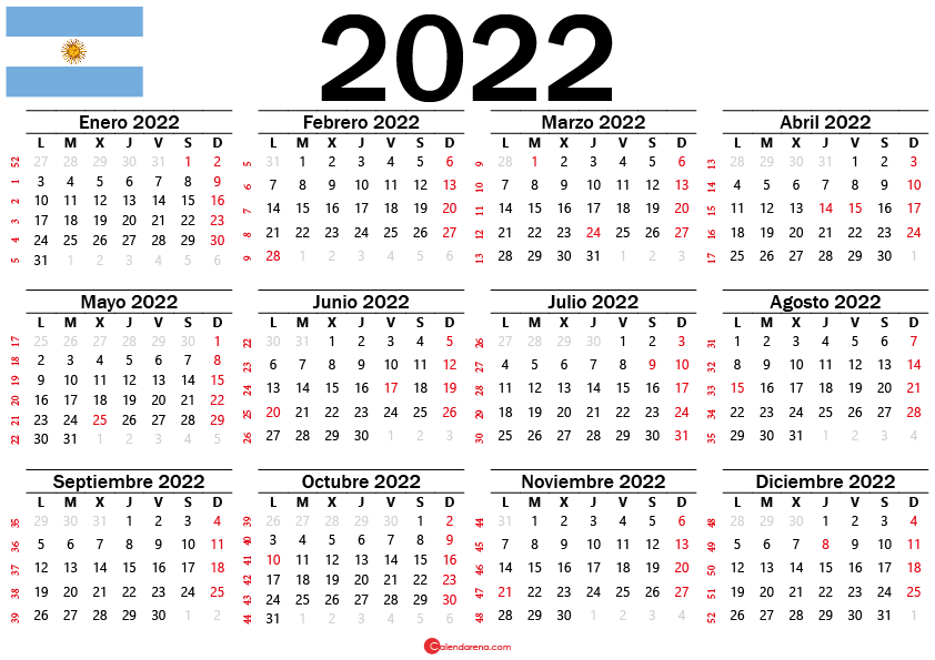 feriados Argentina 2022